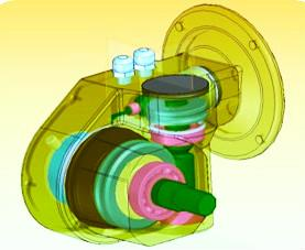 Greenhouse worm gearbox