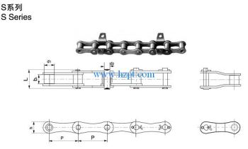Agricultural Chains Roller Chains S42,S45,S52,S55,S62,S77,S88,S414,A620,S413