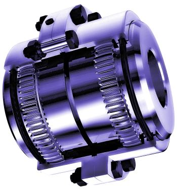 Gear Couplings Inner Hub And Ring Gear
