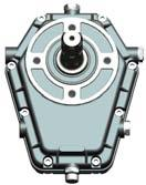 Gearbox Cast-iron Multiplier EP700 Series