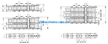 Heavy Series Stainless Steel Roller Chains