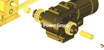 Motor Gearboxes Gear Motor For Glass Greenhouse Ventilation Screening And Shading System